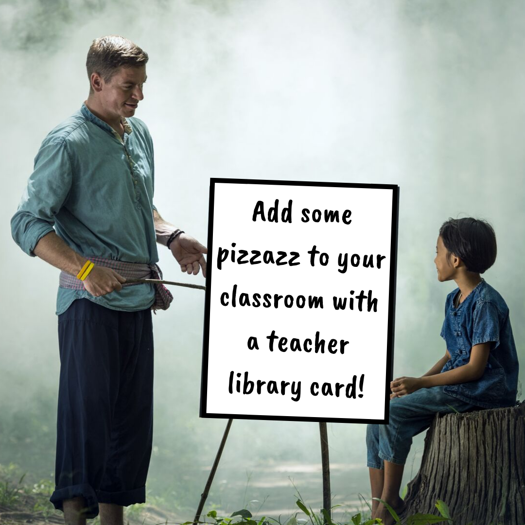Jazz Up Your Classroom: Special Library Cards for Teachers