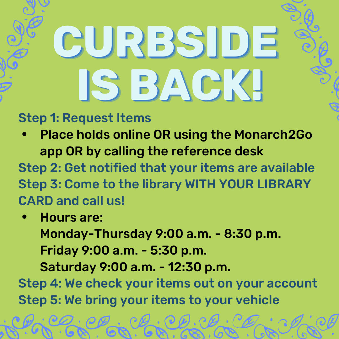 Curbside is BACK!