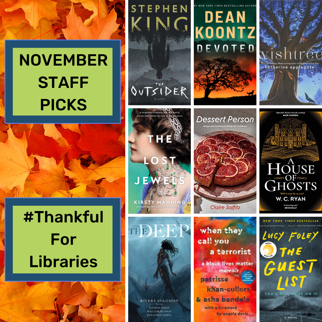 We're Thankful for These November Staff Picks!
