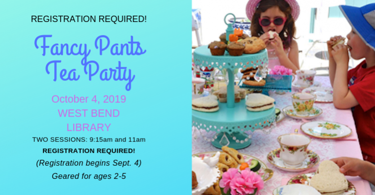 Fancy Pants Tea Party visual