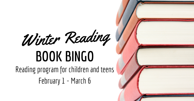 Winter reading program for children visual