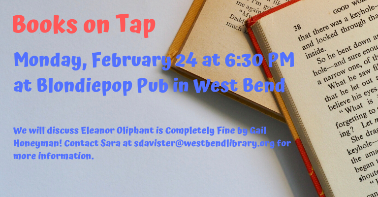 Books on Tap...A New Book Club! visual