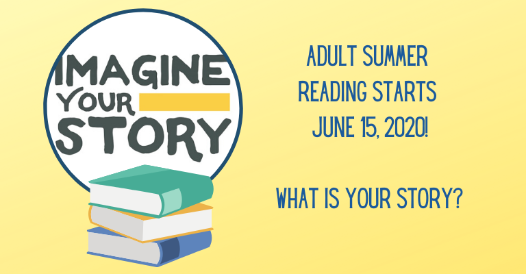 Adult Summer Reading Starts June 15th! visual
