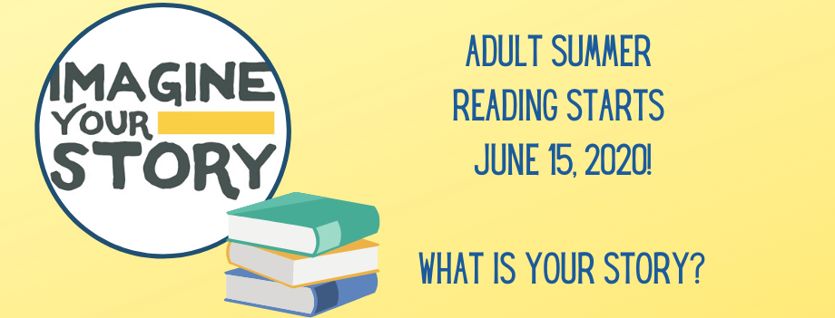 Adult Summer Reading Goes Through August 15th! visual