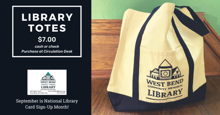 Library Tote Bags! visual