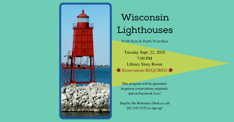 Wisconsin Lighthouses with Ken and Barb Wardius visual